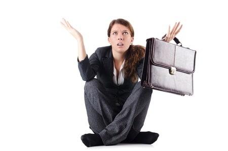 dépression, découragement, burnout, épuisement, famine en affaires
