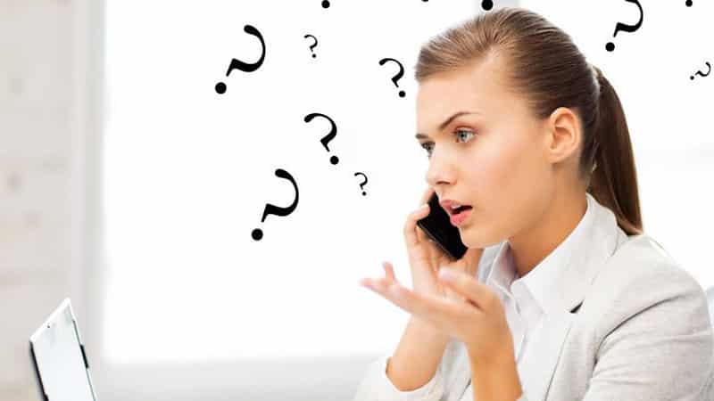 client difficile au téléphone