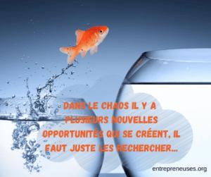 chaos et opportunités
